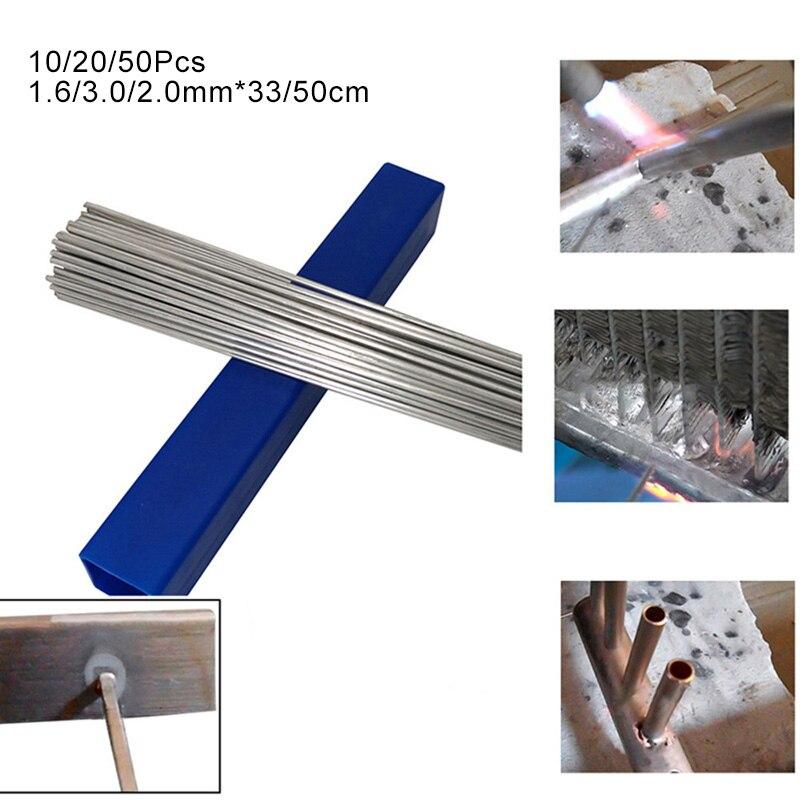 50Pcs Low Temperature Aluminum Welding Wire Welding Electrode Flux Core 2.0mm