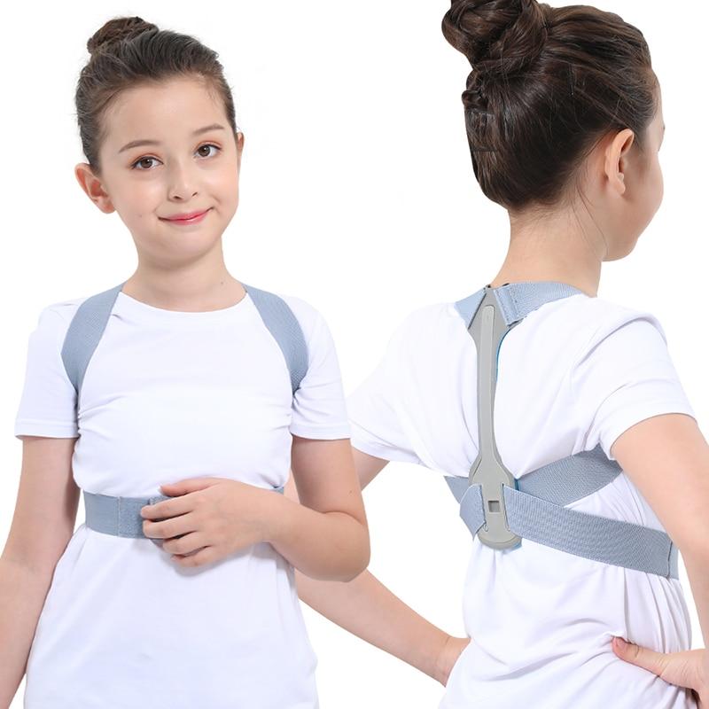 Регулируемый Корректор осанки для детей, поддерживающий пояс, коррекция ортеза, плечевой ремень для подростков|Брекеты и подставки|   | АлиЭкспресс