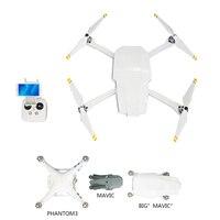Fantasma 3 padrão transforma para drone dobrável como grande mavic para dji fantasma 3 s dobrável drone corpo escudo caso capa protetora