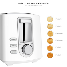 2-Slice Electric Toaster Automatic Breakfast Machine Oven Baking Bread Maker Toast Sandwich Grill Bakeware Kitchen Accessories household automatic breakfast making machine american mini hot dog machine bread sausage maker toast furnace