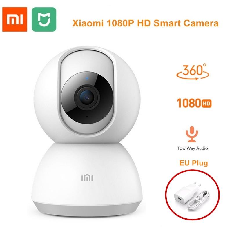 2019 Xiaomi IMI Smart Camera Webcam 1080P WiFi Pan-tilt Night Vision 360 Angle Video Camera Baby Monitor Home Security Camera