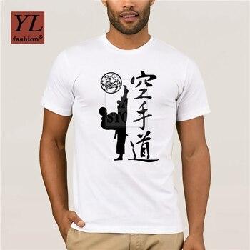 Funny  Personality T-shirt New Karate Kick  Shotokan Cotton Short Sleeve T Shirt Shotokan T Shirt Men funny personality t shirt new karate kick shotokan cotton short sleeve t shirt shotokan t shirt men