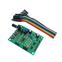 DC 5V-12V 2-Phase 4 Wire/4-Phase 5 Wire Micro DC Stepper Motor Driver Board Speed Controller Module DIY Tools