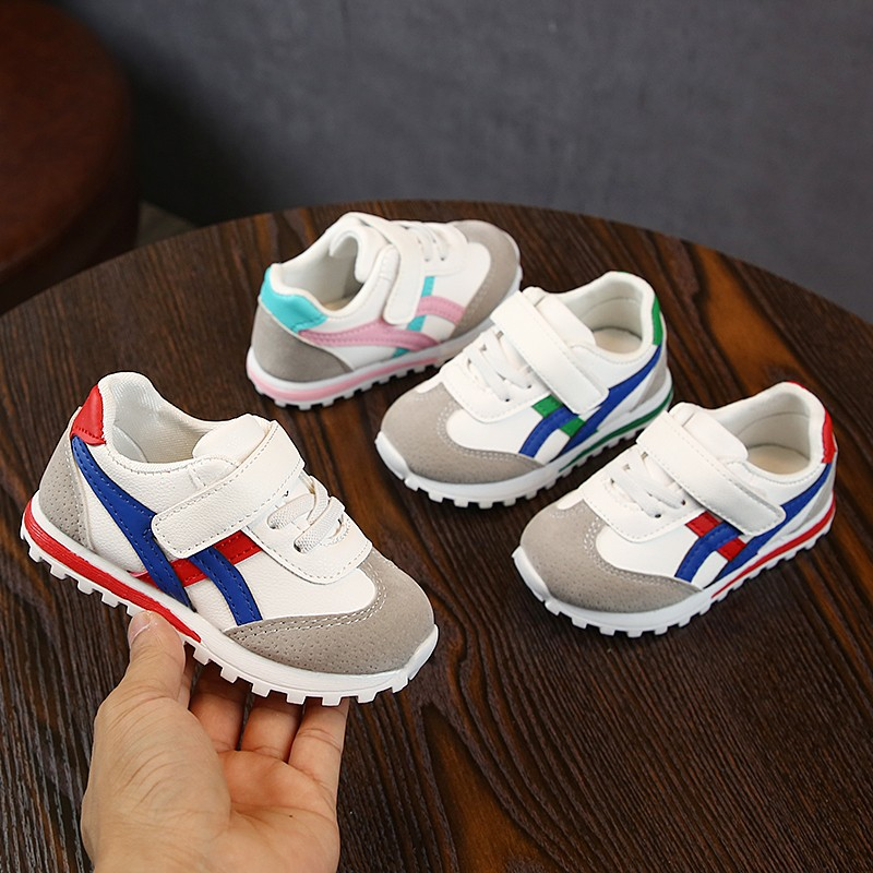 2019 Baby Tennis Shoes Toddler Girls Sneakers Infant Sports Hook&loop Little Boys Sneakers First Step Baby Shoes For 1 Year Old