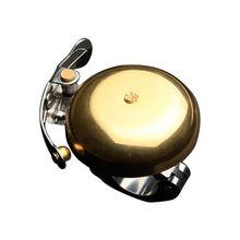 Классический ретро Бронзовый колокольчик чистый звук езда аксессуары Горная дорога велосипед езда колокольчик
