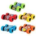 Инерционно-двухсторонний трюковый граффити автомобиль для детей детские автомобили игрушки дорожная модель автомобиля детская игрушка 5 ш...