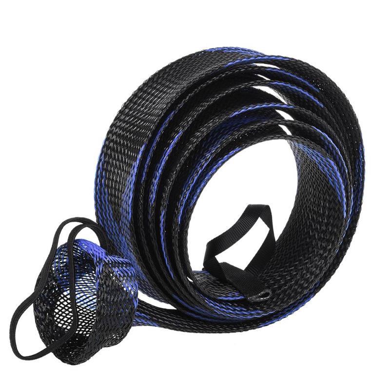 1pcs 190cm Mesh Casting Fishing Rod Cover Pesca Rod Sleeves Pole Glove Clothes Protector Tools Tackle Boxes Fishing Accessories