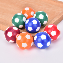 8Pcs/set 32mm Plastic Table Soccer Ball Football Foosball Fussball Machine Parts
