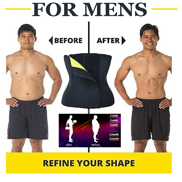 Women Neoprene Body Shapers Slimming Belt Waist Shaper Fat Burner Waist Trainer Weight Loss Tummy Control Workout Sauna Suit 2