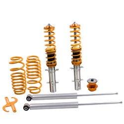 Уличный спираль койловера для VW Volkswagen Golf MK 4 IV 1J комплект подвески регулируемые пружины амортизатор