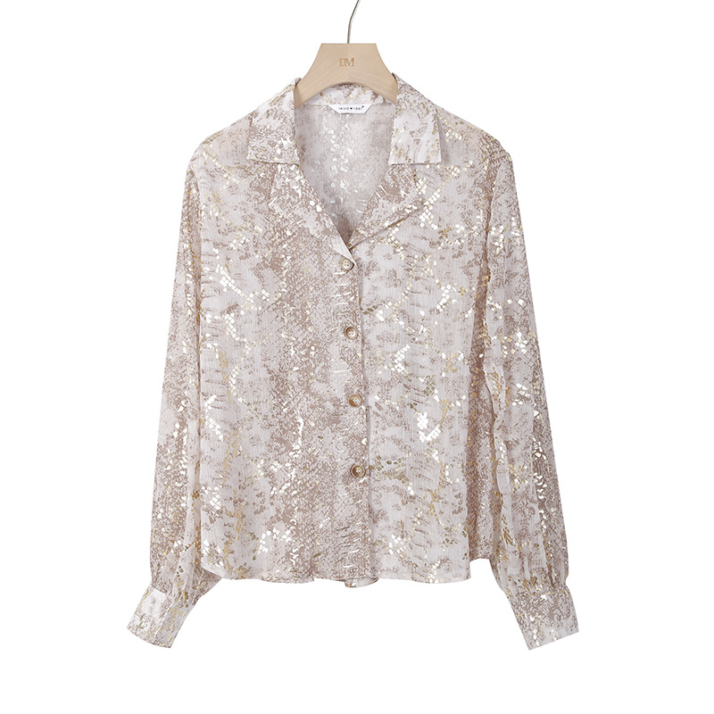 New Listing Sequin Women Shirts 4