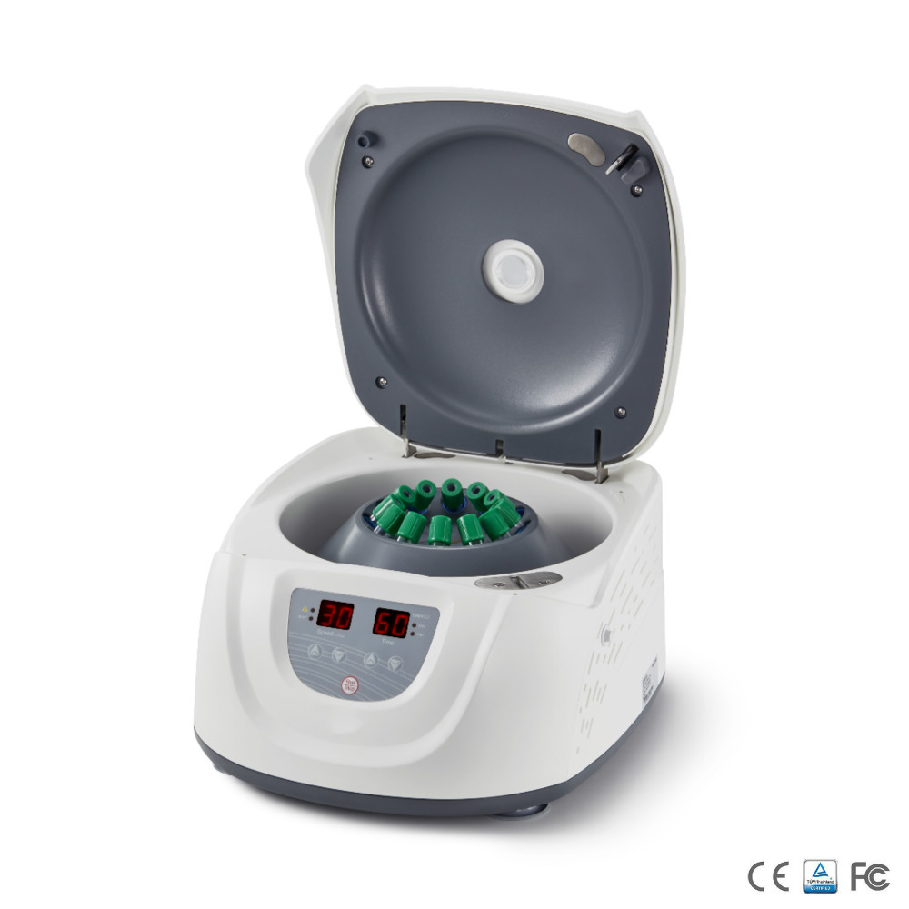Clinical Centrifuge Economical Low-speed Centrifuge Can Put 5ml/7ml/10ml/15ml Tubes 300-4500rpm DM0412S DC Motor CE Mark