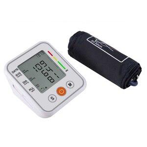 Image 3 - Automatico Medico misuratore di Pressione Sanguigna del Braccio Superiore Del Polsino Del Monitor intelligente Bp Frequenza Cardiaca Tonometro Sfigmomanometro Tensiometro
