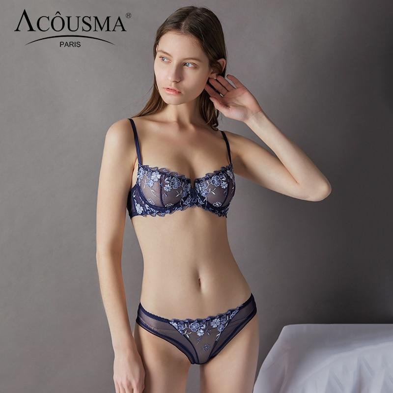 4 colors available. Bra /& panty set 36C Paris Pink ladies underwear