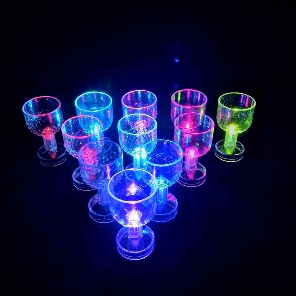 50 Ml Led Lampeggiante Cambiamento di Colore Acqua Attivata Light Up Birra Whisky Tazza di Bevanda