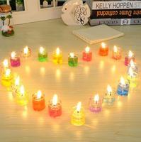 Lámpara de vela sueño creativo vela electrónica romántica marina|Luces festivas| |  -