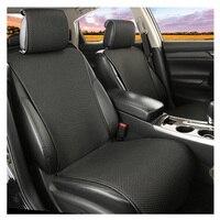 Almofada do assento de carro deslizamento-resistente não se move viscose favo de mel 3d não slide quatro estações confortável e2