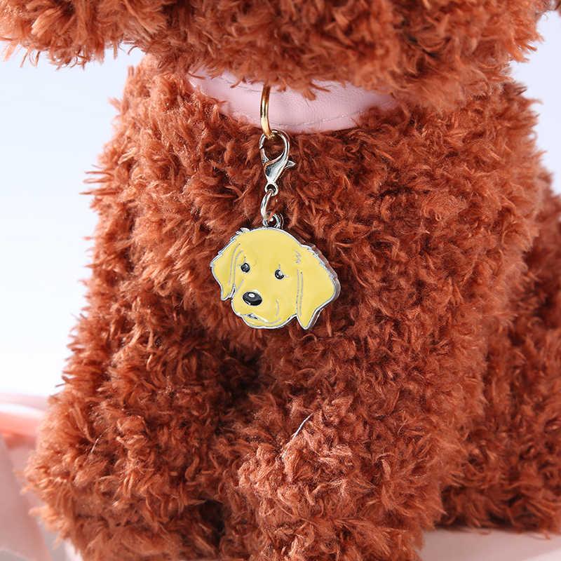 5 adet/grup köpek pug sevimli Anime anahtarlık erkek arkadaşı hediye araba anahtarlık moda kadınlar ve erkekler takı çanta uğuru hediye pet kolye