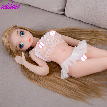 Free shipping small real sex doll young girl chubby sex doll 65cm gay sex doll for men
