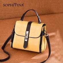 Женская сумка мессенджер sophitina модная повседневная сумочка