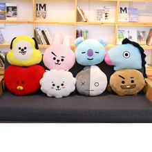 Cartoon Cute Animal Throw Pillow Soft Plush Toys Creative Room Decoration Children's Gift Toys Bed Pillow 35*40cm
