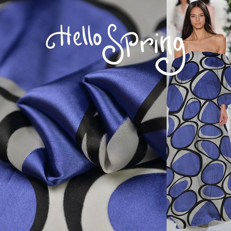 Soie pourri satin 100% soie tissu soie robe fashion designer tissu mode confort