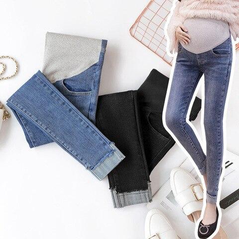 calcas stretch skinny calcas para mulheres gravidas