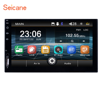 Seicane video MP5 Player Universal 2 din Android Car Multimedia Player 7inch Touch Screen Auto Radio Bluetooth Backup Camera