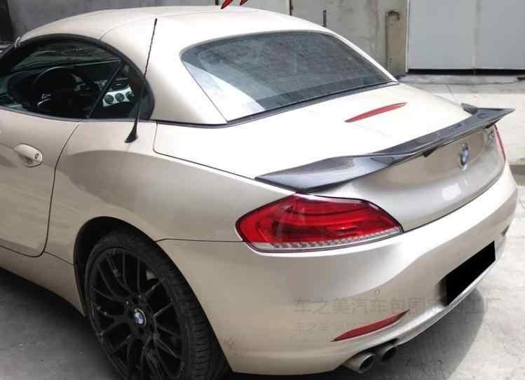 Kualitas Tinggi Serat Karbon Sayap Belakang Bagasi LIP SPOILER untuk BMW Z4 E89 18i 20i 23i 28i 30i 35i 2009-2016 R STYLE