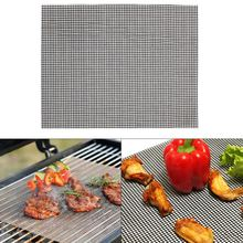 Bbq environmentally friendly reusable barbecue mat grill replacement