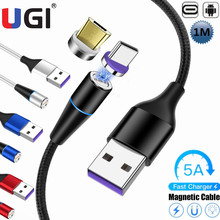 5A 1M 3FT 5A Magnetic Cable Micro USB Type-C quick Charger H