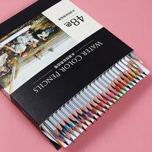 24/36/48 cores aquarela lápis desenho caneta conjunto de arte crianças pintura esboço lápis de cor de água kit