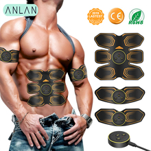 EMS Wireless Muscle Stimulator Trainer Smart Fitness Abdominal Training LED Electric Weight Loss Stickers Body Slimming Belt gel for ems muscle stimulator trainer smart fitness abdominal training electric weight loss stickers body slimming belt