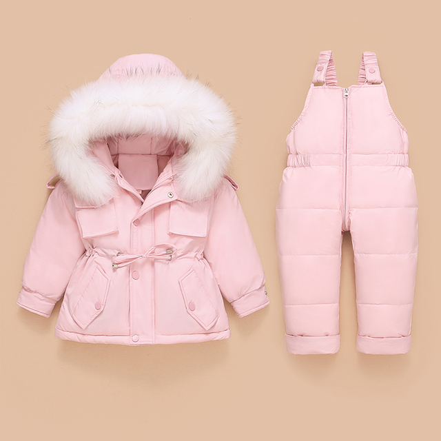 Toddler Down Coat and Pants 4