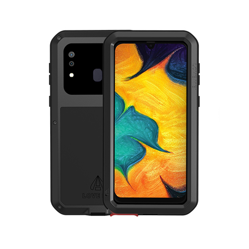 360 Full Body Armor Case For Samsung Galaxy A30 A30S A50 A50S A70 A70S Case Shockproof Metal Rugged Cover For Samsung A30 A50 S
