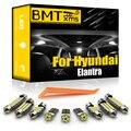 BMTxms Canbus для Hyundai Elantra XD HD MD UD AD 2001-2020 комплект автомобильных светодиодных ламп для внутреннего освещения номерного знака Лампы для автомобиля