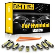 Bmtxms canbus para hyundai elantra xd hd md ud ad 2001-2020 veículo conduziu a luz interior kit lâmpada da placa de licença lâmpadas lâmpada do carro