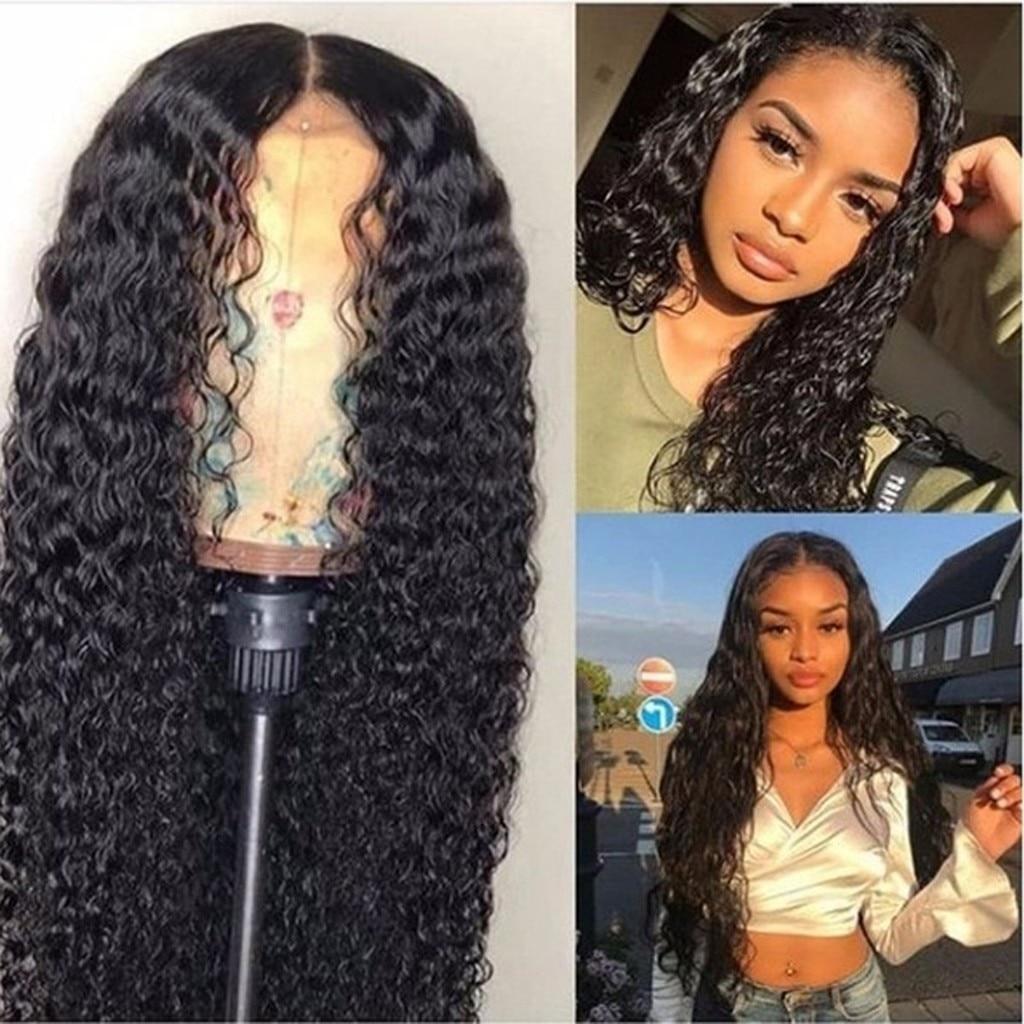 Peruano encaracolado cabelo humano peruca sem cola frente do laço cabelo humano todos os tipos de cor diy beleza cosplay 2021 áfrica estilo headwear