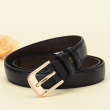 Women's Belt Top PU Leather Casual High Quality Belt Vintage Design Pin Buckle Female Waistband Jeans Dress Accessories