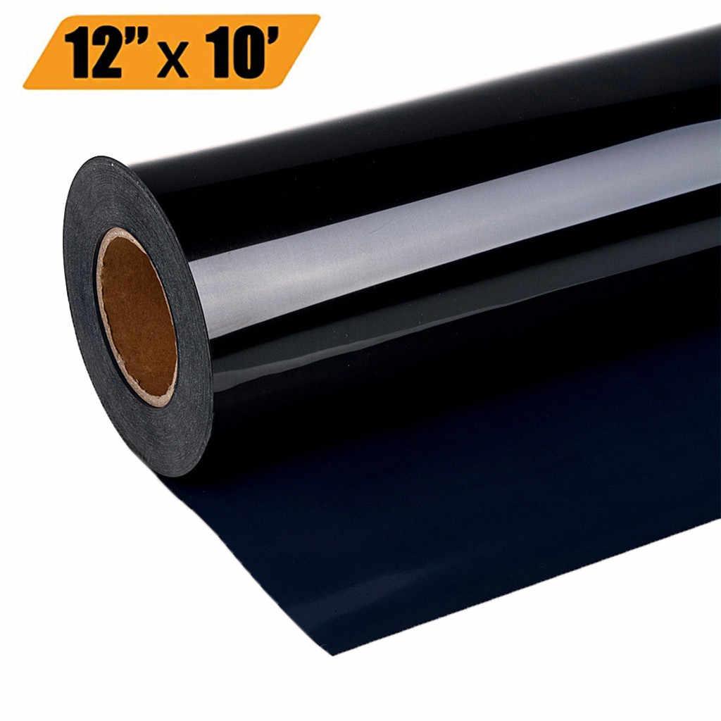 1 롤 비닐 열 전송 아이언 DIY 의류 필름 실루엣 종이 아트 열 프레스 기계 필름 12inch * 10ft/12inch * 12ft