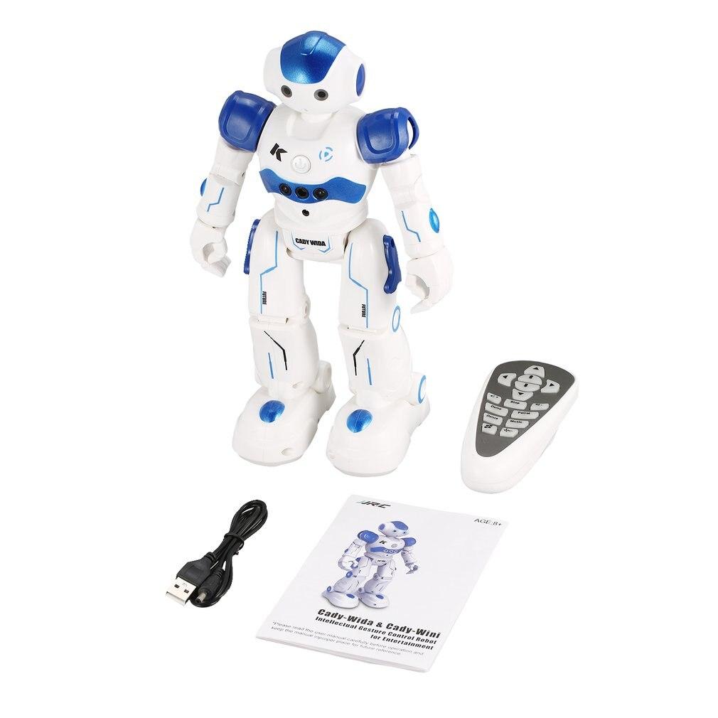 JJR/C R2 Dancing Robot Intelligent Gesture Control RC Robot Toy Blue Pink for Children Kids Birthday Gift USB Charging