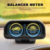 2 In 1 Outdoor Auto Verstelbare Kompas Balancer Helling Meter Toerenteller Auto Interieur Accessoires Voor Auto Boot Voertuigen -