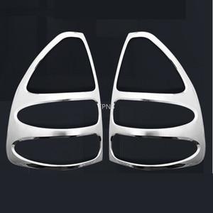 Image 5 - Dành Cho Xe Toyota Land Cruiser Prado 120 FJ120 2003 2004 2005 2006 2007 2008 2009 Phía Sau Đèn Viền Máy Hút Mùi Xe Ô Tô tạo Kiểu Phụ Kiện