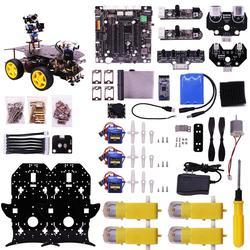 Ultimate Starter Kit voor Raspberry Pi 3 B + HD Camera Programmeerbare Smart Robot Car Kit DIY Stem Speelgoed Kit voor Tieners