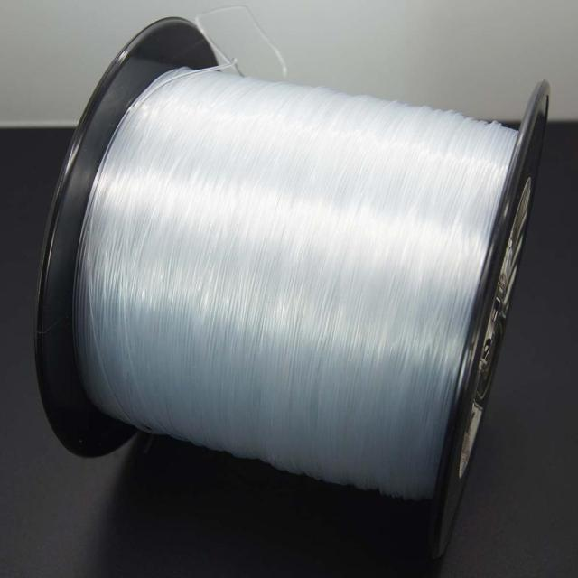 Best DORISEA 500M Nylon Line Monofilament Fishing Line Fishing Lines cb5feb1b7314637725a2e7: Clear