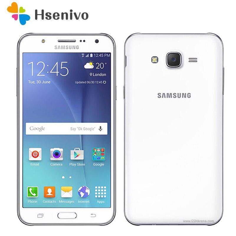 Original Samsung Galaxy J7 Unlocked Duos GSM 4G LTE Android Mobile Phone Octa Core Dual Sim 5.5