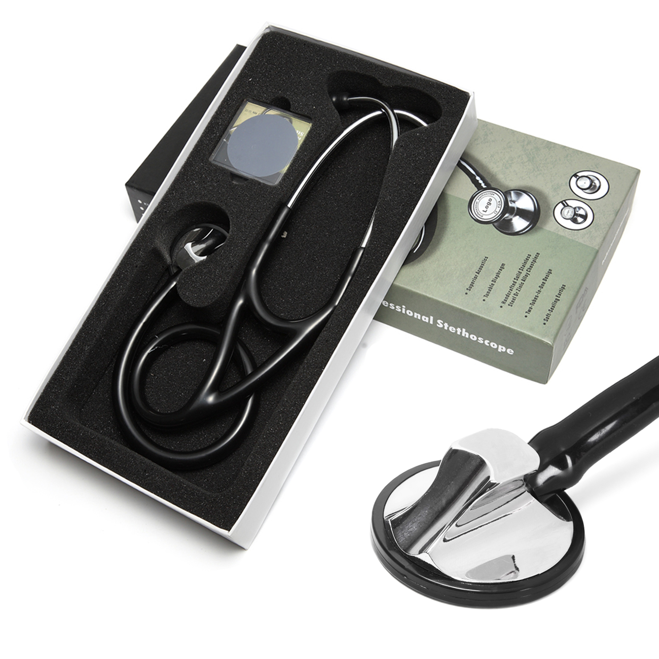 Medical-Equipment-Device Stethoscope Doctor Lung Heart Professional Student Single-Head