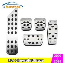 Clutch-Pedals-Accessories Cruze Sedan Chevrolet Xburstcar for Hatchback MT/AT Foot-Fuel-Brake