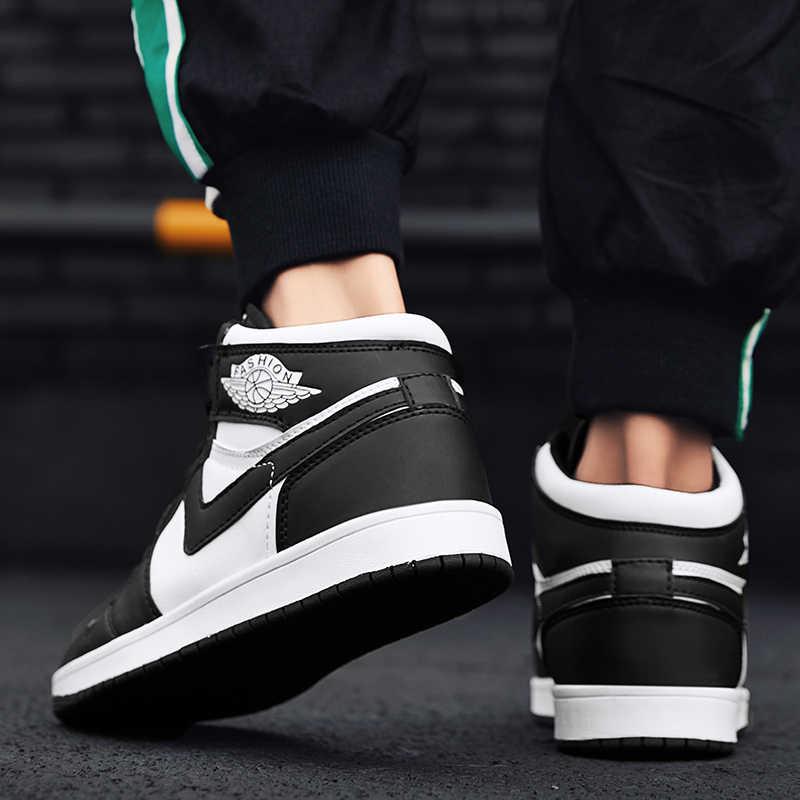 Ayakkabı erkekler Sneakers AJ ayakkabı ünlü süper yıldız Hip Hop AJ ayakkabı sepet Homme rahat ayakkabı Skatebording ayakkabı botları Zapatilla