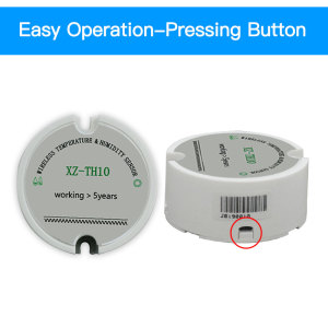 Image 3 - software free 868 wireless temperature humidity sensor 433mhz moisture sensor real time temperature humidity data logger monitor